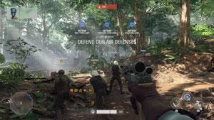 star wars battlefront 2, test, yavin 4, multiplayer, infanterist