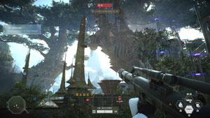star wars, battlefront, 2, test, kashyyk, grafik