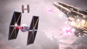 star wars battlefront 2, test, tie-fighter, luftkampf