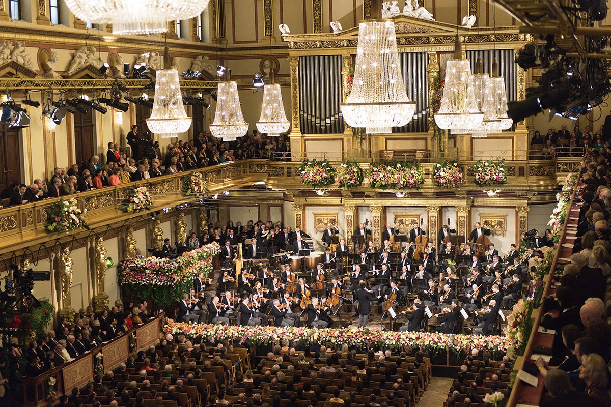 Neujahrskonzert 2018 – mit den Wiener Philharmonikern ins neue Jahr
