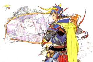 final fantasy 1, test, retro-test, final fantasy origins cover