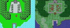 Final Fantasy 1, playstation, nes