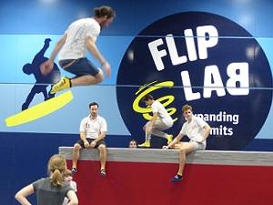 flip lab vienna, wall, trampolinhalle, schwechat