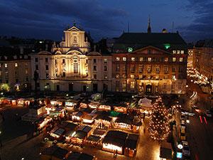 weihnachtsmarkt am hof, platz, wien