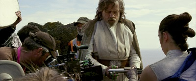 making of, star wars 8, die letzten jedi, luke skywalker, rey, daisy ridley, mark hamill, kamera