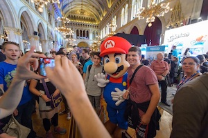 game city, wien, rathaus, super mario, programm, highlights, nintendo