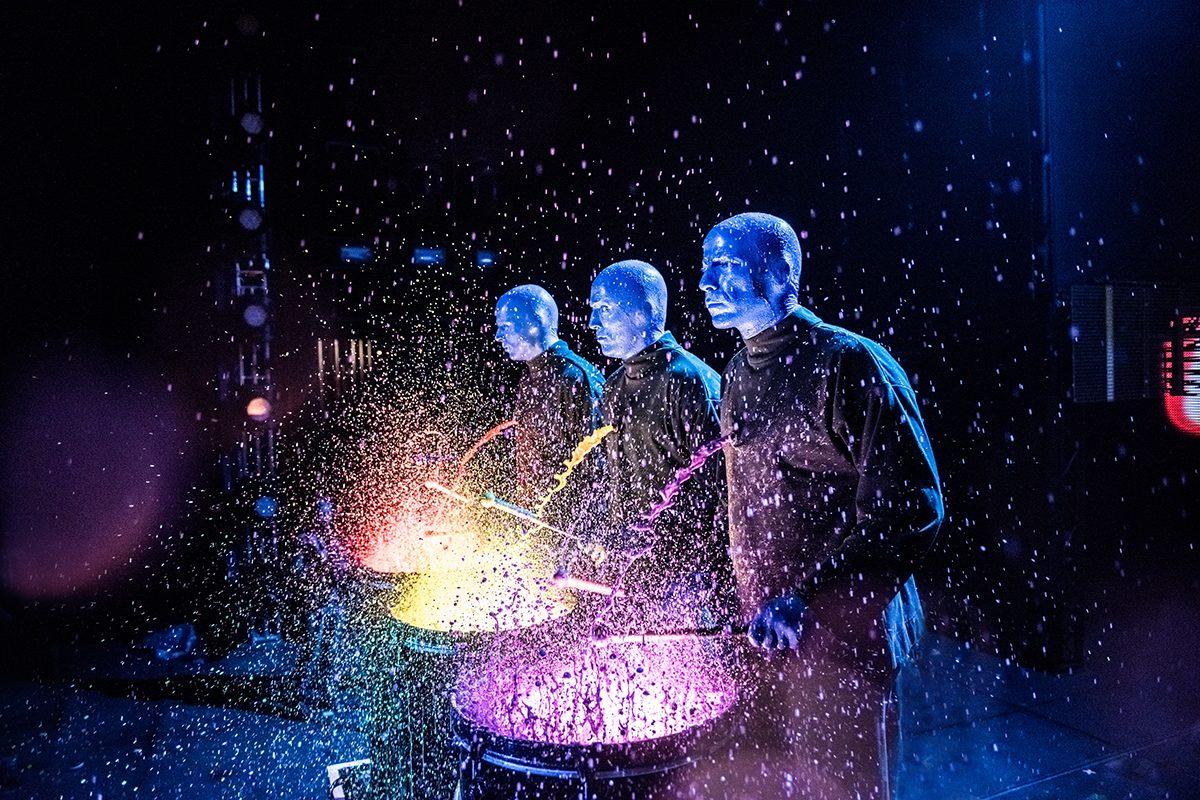 Blue Man Group auf Welttour – so erobern sie Wien und Bregenz!