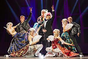 Falco Musical, Rock Me Amadeus, Bühne, Show