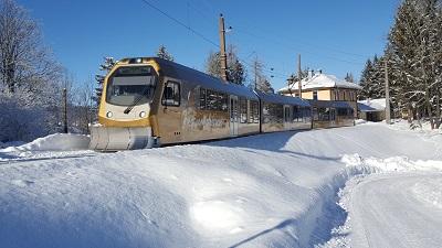 mariazellerbahn, winter, gemeindealpe mitterbach, himmelstreppe, anreise, zug