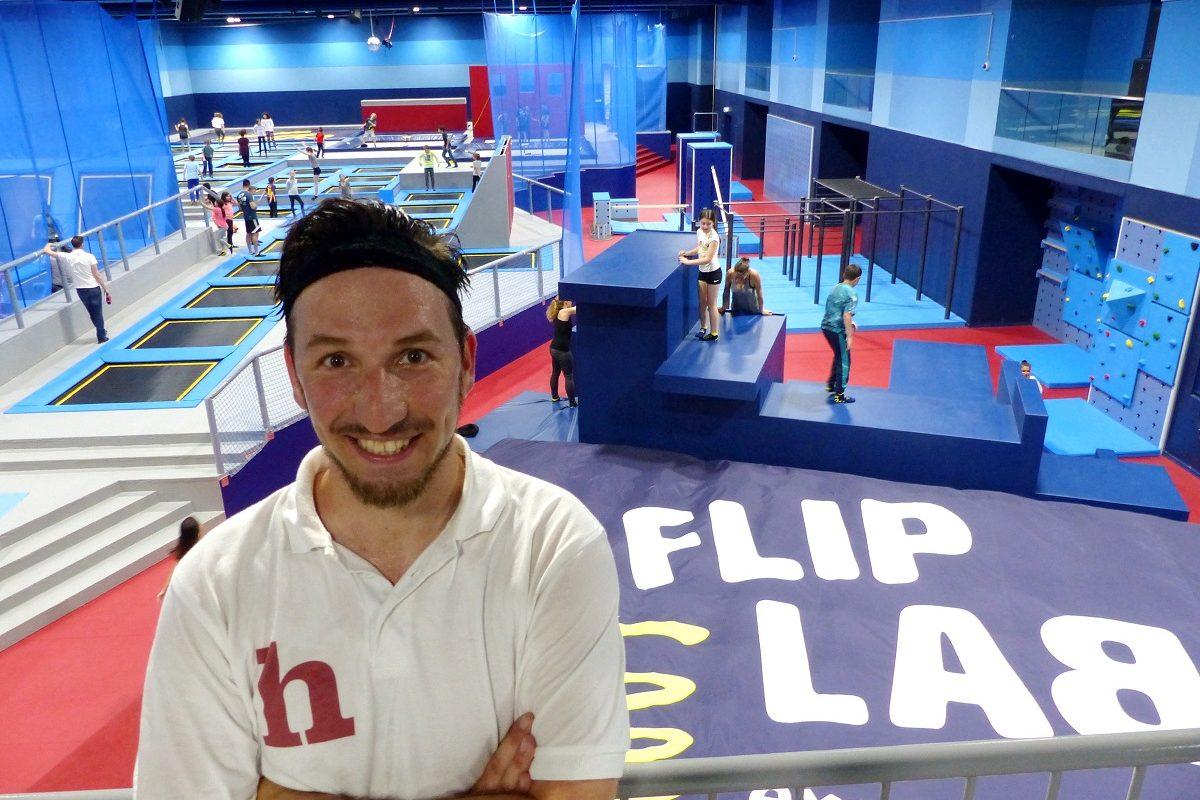 FlipLab Gewinnspiel: 2×2 Tickets für Mega-Trampolinpark bei Wien