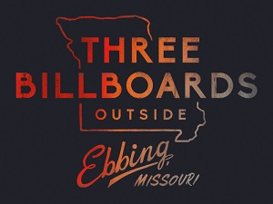 three billboards outside ebbing, schrift, titel