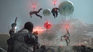 metal gear survive, ps4, ballon, zombies, fulton, wanderer