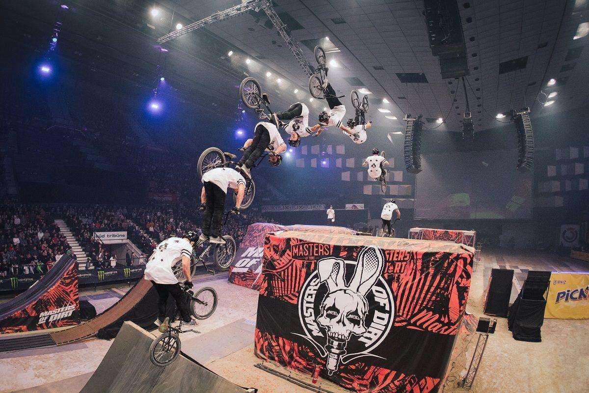 Masters of Dirt fliegen in Linz – das große Finale der Österreich-Tour