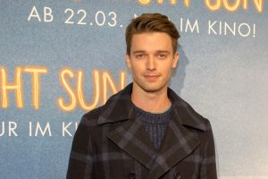 patrick schwarzenegger interview, red carpet, midnight sun