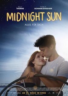 midnight sun, filmplakat, patrick schwarzenegger, bella thorne