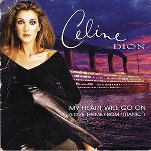 céline dion, titanic, my heart will go on, soundtrack, single, top 10 filmsongs