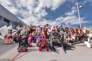 fotoshooting, cosplay, superhelden, vienna comix 2018, wien