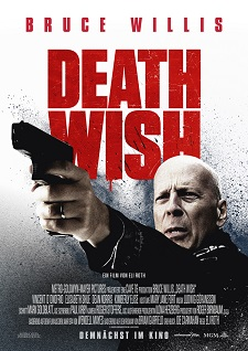bruce willis, death wish, plakat, kinofilm