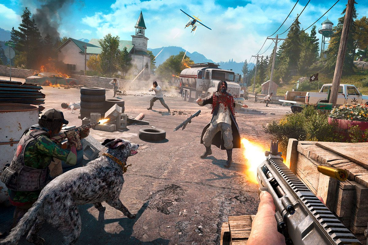 Far Cry 5 Vorschau – Kultige Action mit Endlos-Baukasten