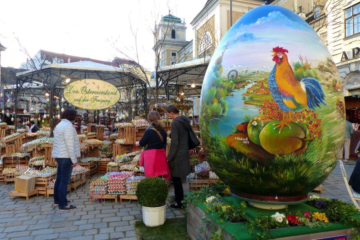 Altwiener Ostermarkt auf der Freyung – die Highlights 2018