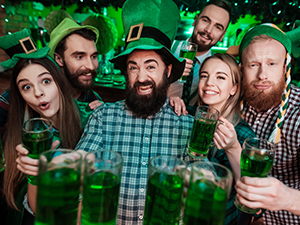 st. patricks day 2018, wien, events, irish pubs, grünes bier