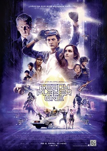 ready player one, plakat, poster, cast