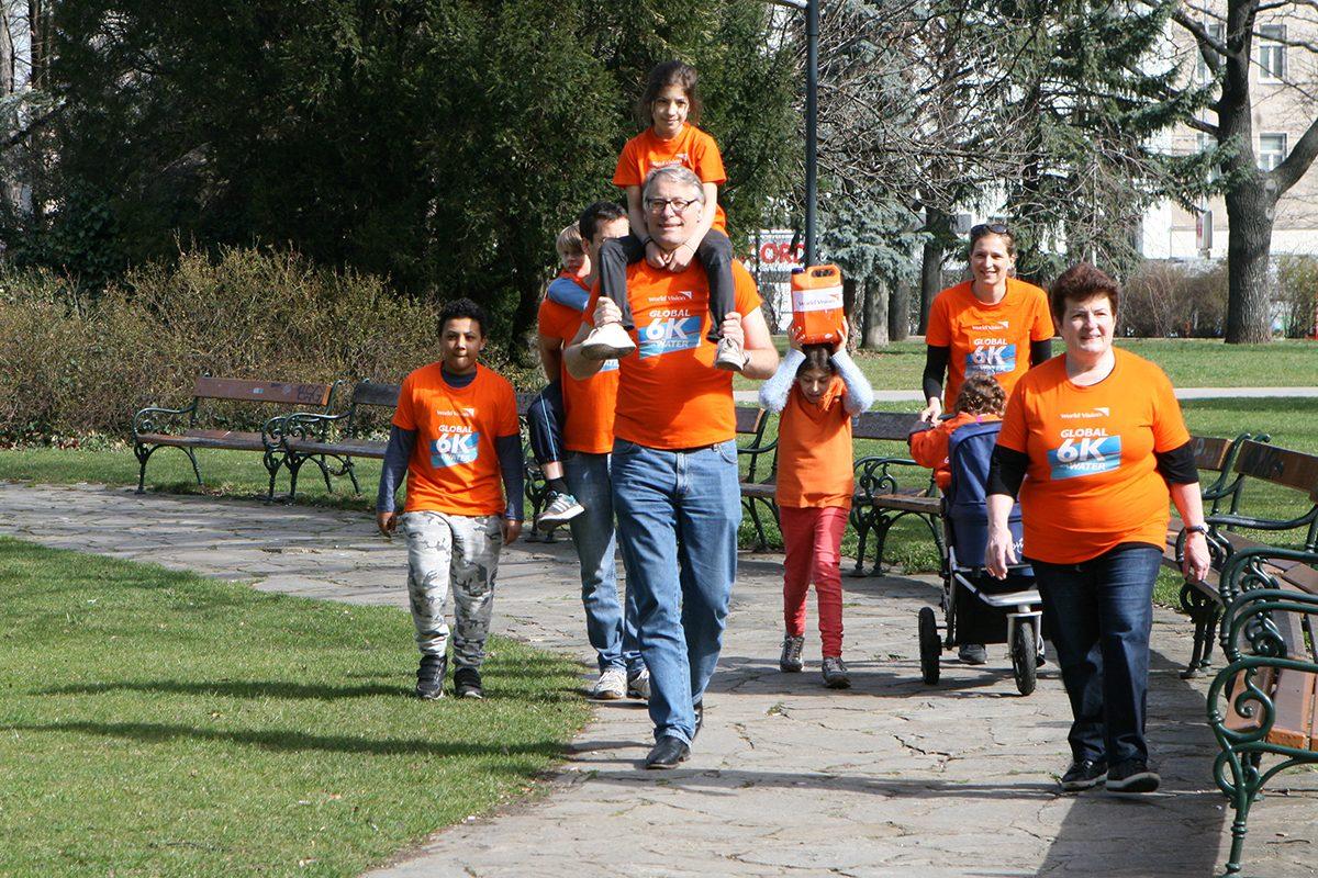 Laufen für Trinkwasser! Der Global 6K Walk & Run