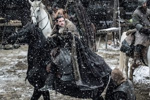 jon snow, game of thrones, reitet, pferd