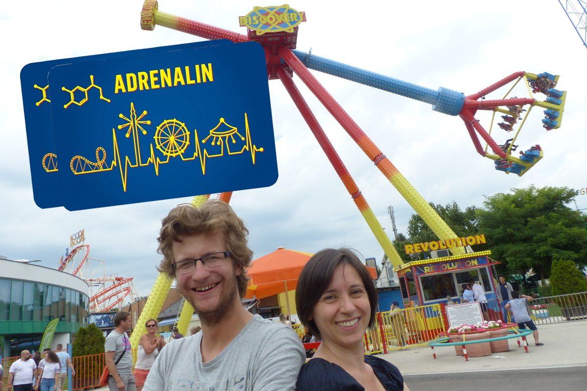 Prater Adrenalincard: Gewinn 7 wilde Ritte für zwei!