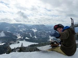 Annaberg, Panorama, Snowboard, Lift