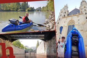 Packraft, Helden der Freizeit, Stephansdom, Donaukanal, Wien, mrs, adventure X2,