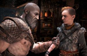 god of war, review, kratos, atreus