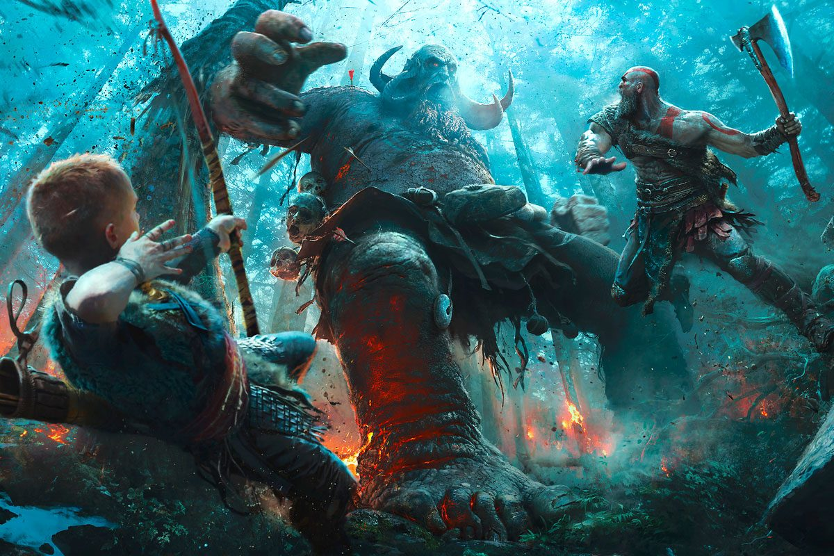 God of War Review – Freude, schöner Götterfunken, Kratos ist zurück