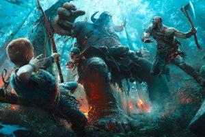 god of war, god of war review, test, gameplay, fazit, kratos, atreus, odin, gott, ps4