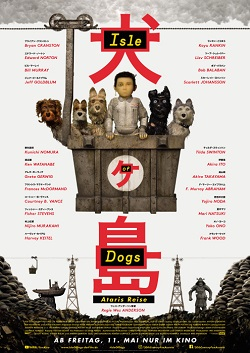 Isle of dogs, ataris reise, filmplakat, oesterreich