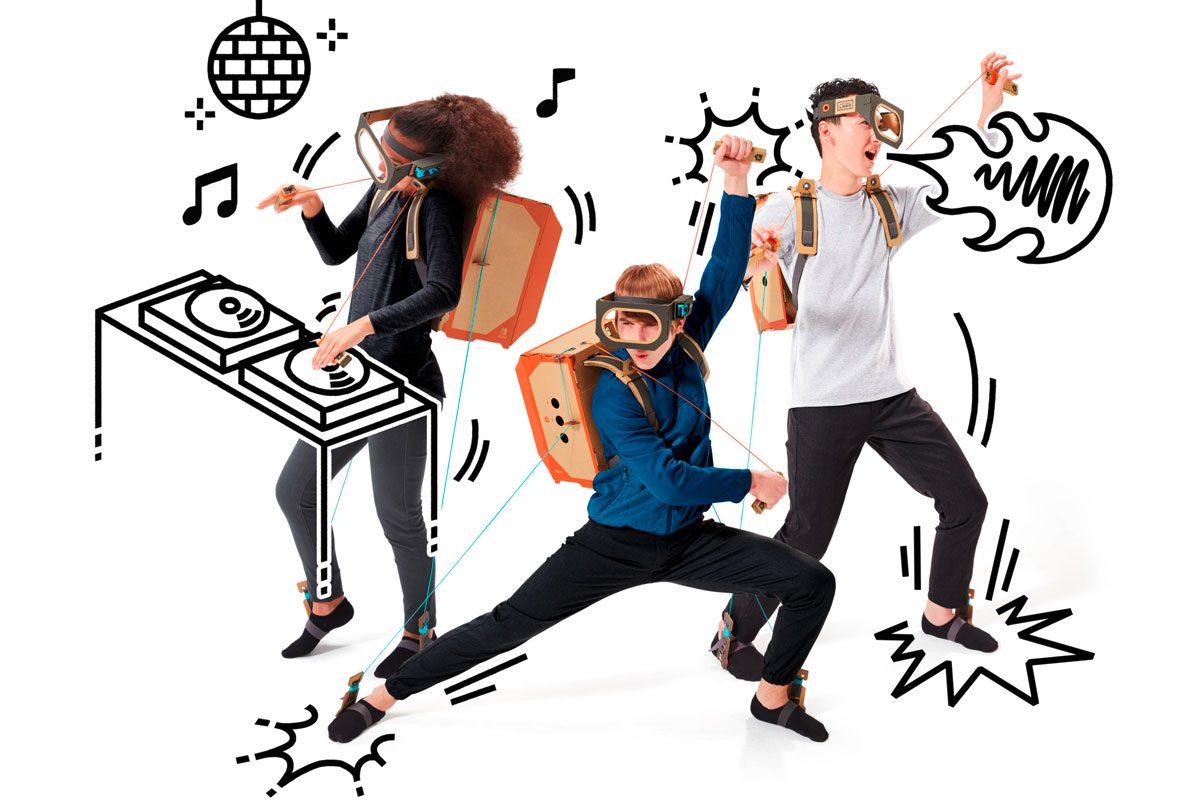 Nintendo Labo – Kinderträume sind aus Pappendeckel