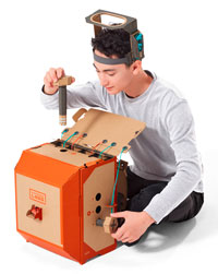 nintendo, nintendo labo, nintendo switch, robo-kit, preview
