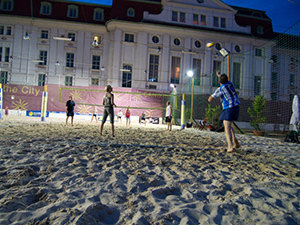 sand in the city 2018, sport, beachvolleyball