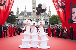 Life Ball, Red Carpet, Eröffnung, Wiener Rathaus