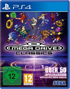 SEGA, Mega Drive Classics, Cover, PS4
