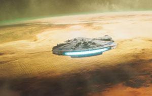 solo, star wars story, millenium falcon