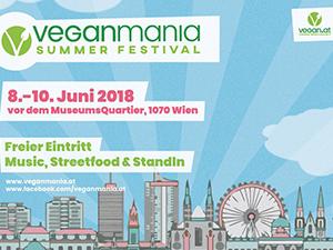 veganmania wien 2018, flyer, museumsquartier