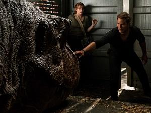 chris pratt, jurassic world 2, owen, claire, t-rex