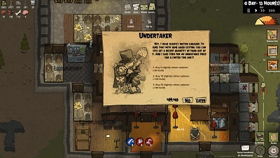 michiavillain, undertaker, event, totengräber