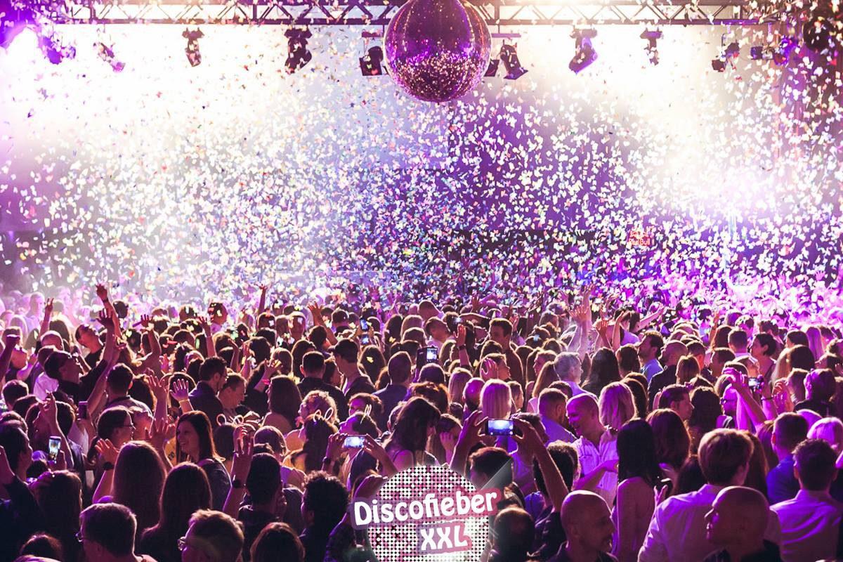 Discofieber XXL – die besten Hits aus 3 Jahrzehnten in einer Nacht