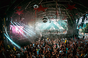 electric love, festival, salzburgring, bühnenshow