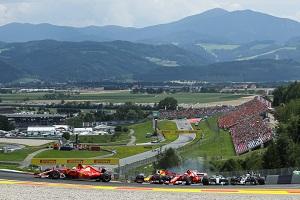 Spielberg, Remus Kurve, Österreich-GP, Formel 1