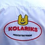 kolariks freizeitbetriebe, logo, hemd