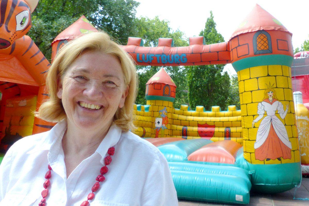 """Luftburg-Erfinderin Elisabeth Kolarik: """"Hit wie der Game Boy!"""""""