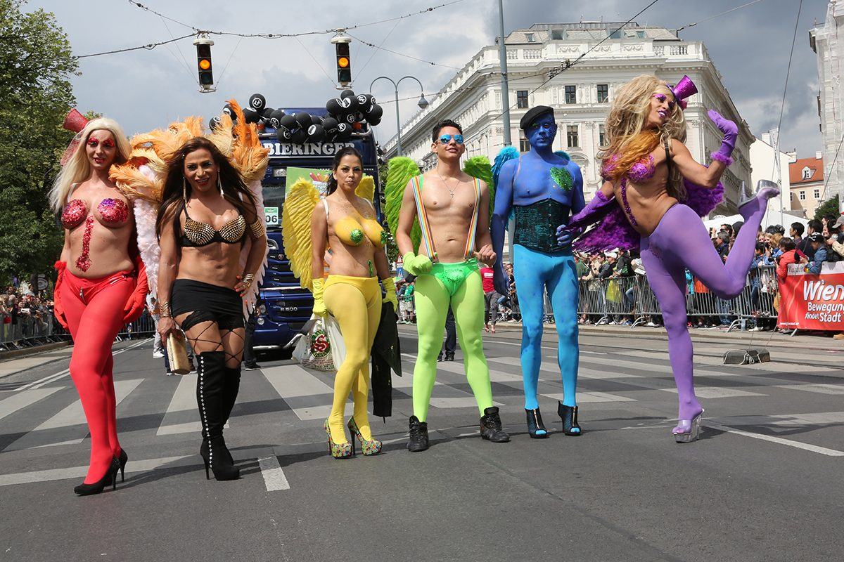 Vienna Pride Festival & Regenbogenparade – so bunt wird's!